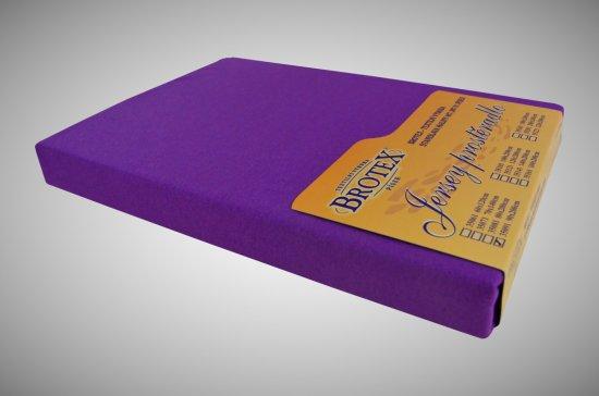 Brotex Jersey prestieradlo tmavo fialové, Výběr rozměru 80x200