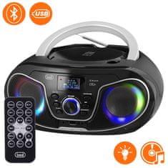 Trevi Boombox CMP 588 prenosni CD-predvajalnik, DAB/DAB+, Bluetooth, črn
