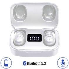 Trevi HMP 12E04 AIR brezžične slušalke, bele