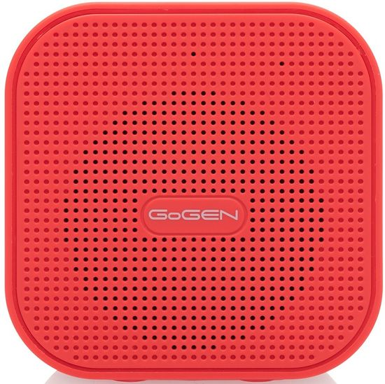 GoGEN BS 034, červený - rozbalené