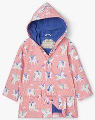 Hatley Lány vízhatlan esőkabát Magical Pegasus Colour Changing S21RPK1336, 104, rózsaszín