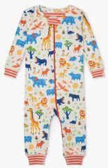 Hatley pidžama za dječake od organskog pamuka Wild Safari S21SSI242, 56 - 58, krem