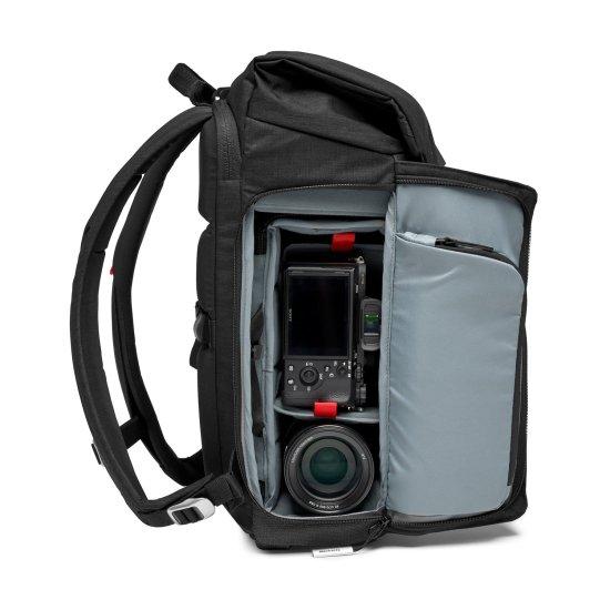 Manfrotto Chicago Fotografski nahrbtnik Small 30 za DSLR/CSC (MB-CH-BP-30) + GRATIS - PIXI MINI namizno stojalo (MTPIXI-B)