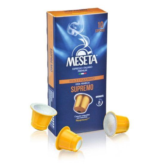 Meseta Supremo 100% arabica 10 ks Nespresso®* kompatibilní kapsle
