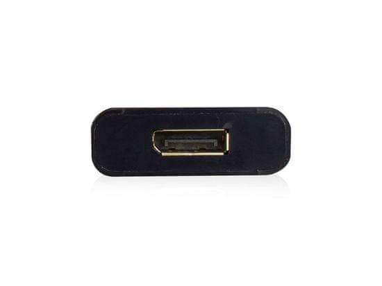 Ewent EW9825 USB-C v DisplayPort 4K adapter, črn