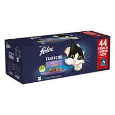 karma dla kotów, wołowina/kurczak/łosoś/tuńczyk w galarecie, 44x85 g