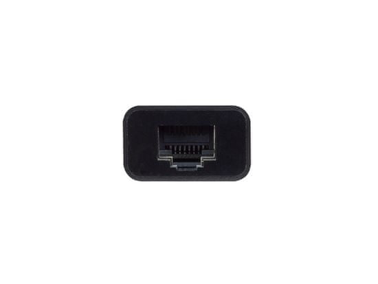 Ewent EW9828 USB-C v RJ45 Ethernet adapter, črn