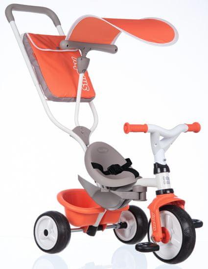 Smoby tricikel Baby Balade, rdeča