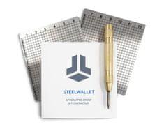 Shift Crypto BitBox SteelWallet varnostna kopija kripto denarnice, 2 ploščici