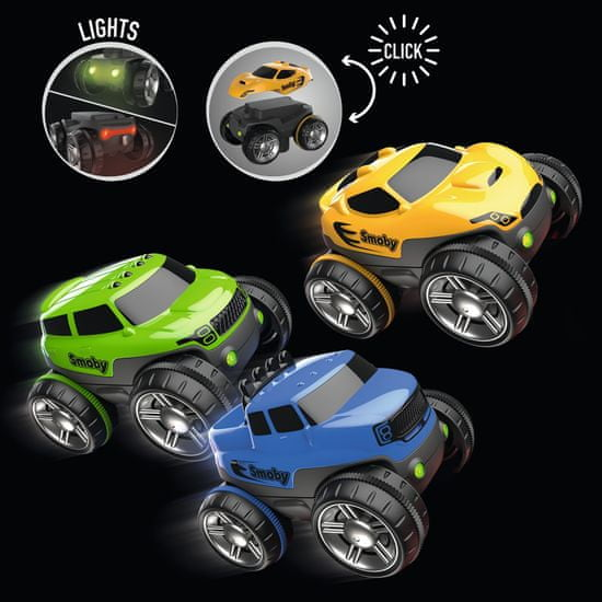 Smoby Flextreme avtomobil, moder, tovornjak