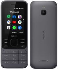 Nokia 6300 4G. Charcoal