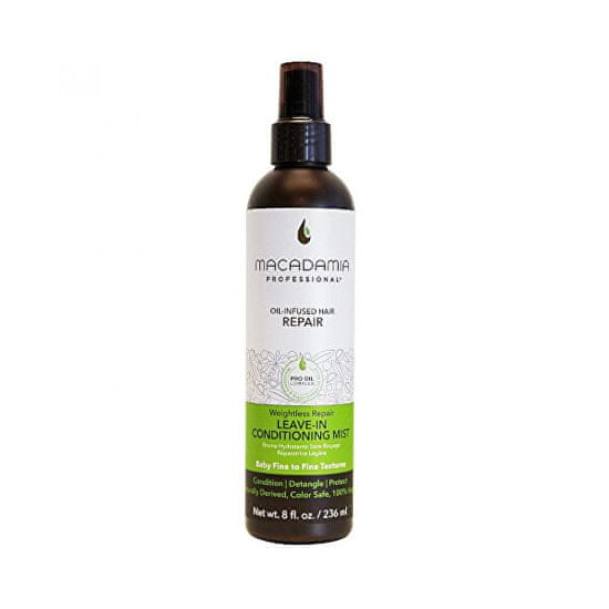 Macadamia Hydratační mlha pro nepoddajné a krepaté vlasy Weightless Repair (Conditioning Mist)