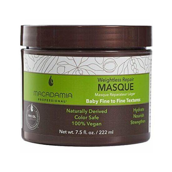 Macadamia Obnovující maska pro všechny typy vlasů Weightless Repair (Masque)