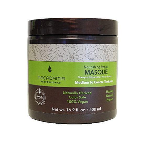 Macadamia Vyživující maska na vlasy s hydratačním účinkem Nourishing Repair (Masque)
