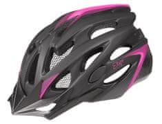 Etape ženska kolesarska čelada Venus, črna/roza Mat, L/XL