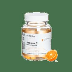 Venira Vitamín C ve formě kostiček 90cps, příchuť pomeranč
