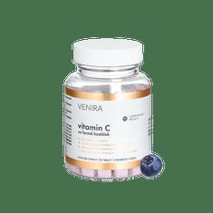 Venira Vitamín C ve formě kostiček 90cps , příchuť borůvka