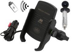 M-Style  EW 2 držák telefonu s bezdrátovým nabíjením do krku řízení