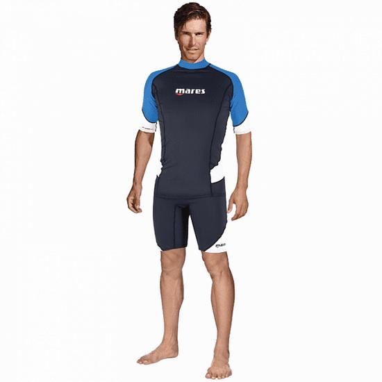 Mares RASHGUARD férfi lycra póló, rövid ujjú