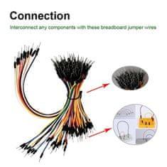 Keyestudio Keyes Arduino sada 3x65 ks kabelů male-male