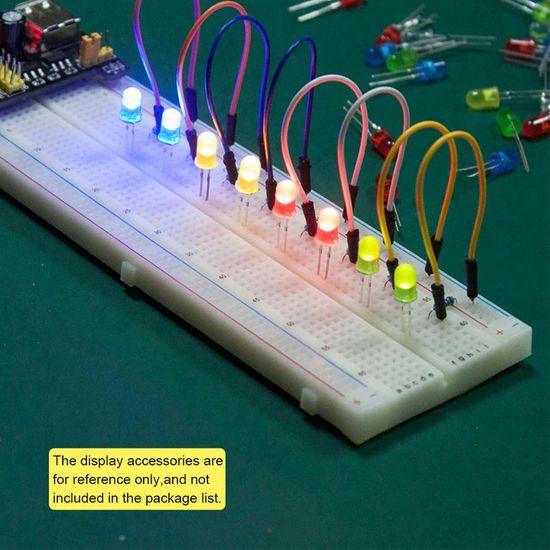 Keyestudio Keyes Arduino Breadboard + sada 65 kabelů male-male