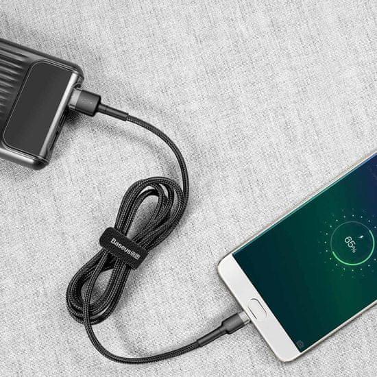BASEUS Cafule micro USB Podatkovni kabel QC 3.0 2.4A 0.5M