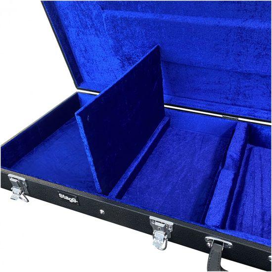 Stagg GCA-RB, kufor pre basovú gitaru