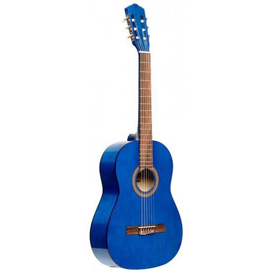 Stagg SCL50-BLUE, klasická kytara 4/4, modrá