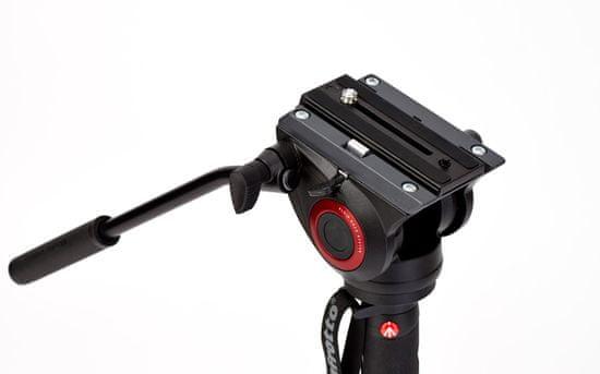 Manfrotto XPRO 4 segmentni video monopod z Fluid 500 glavo & FLUIDTECH podstavkom (MVMXPRO500)