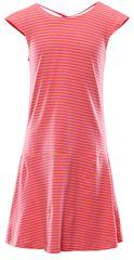 ALPINE PRO sukienka dziewczęca REATO 92 - 98 różowa