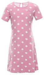 ALPINE PRO dekliška obleka ZIADO, 104 - 110, roza