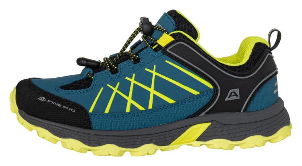ALPINE PRO chlapecká outdoorová obuv ADO 33 modrá