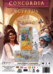 PDV družabna igra Concordia, razširitev Aegyptus-Creta angleška izdaja