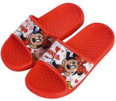 Disney Lány papucs Minnie WD13585_1, 24, piros