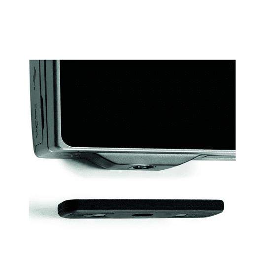 Manfrotto Compact Advanced aluminijasto stojalo z 3Way glavo, črn (MKCOMPACTADV-BK) + GRATIS nosilec za telefon (MCLAMP)
