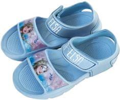 Disney Sandały dziewczęce Frozen WD13657 22 niebieskie