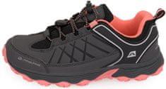 ALPINE PRO dievčenská outdoorová obuv Nao 27 tmavo sivá