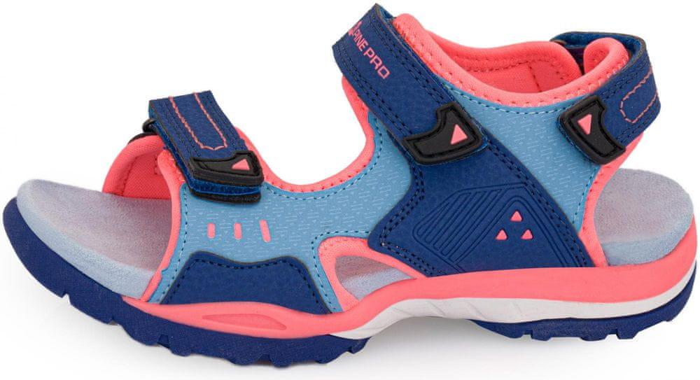 ALPINE PRO dívčí sandály Gereto 33 modrá