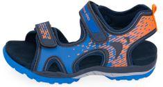 ALPINE PRO sandały chłopięce Lylo 28 niebieskie
