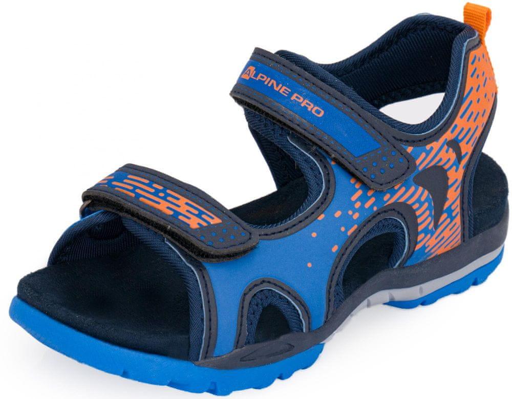 ALPINE PRO chlapecké sandály Lylo 33 modrá