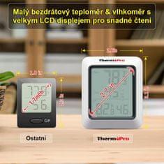 ThermoPro Digitálny teplomer s meraním vlhkosti TP - 60S