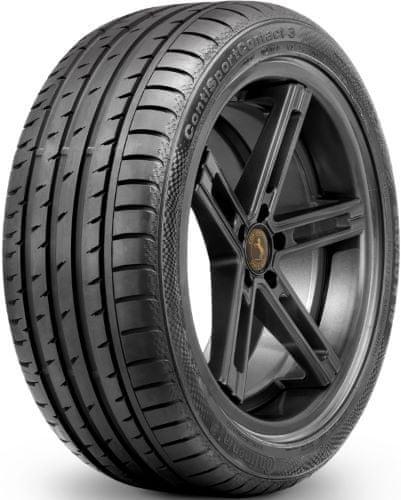 Continental letne gume ContiSportContact 3 245/45R18 96Y * r-f