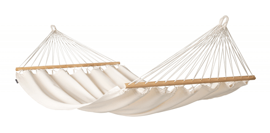 La Siesta Florenica viseća mreža s prečkom , Double, organski pamuk, Latte