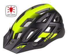 Etape Virt Light kolesarska čelada, črno-rumena, S/M
