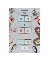 Detský kusový koberec Play 2903 grey 80x120