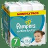 Pampers Active Baby Plenky Velikost 7 116 ks, 15kg+