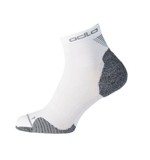 ODLO Ceramicool Quarter čarape, bijele (B:10000)