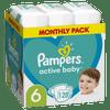 Pampers Active Baby plenice, vel. 6, 13–18 kg, 128 kosov