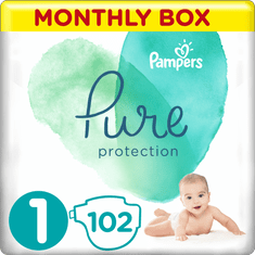 Pampers Premium Care pelenka, Méret 1, 102 db, 2-5 kg
