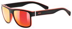 Uvex LGL 21 sončna očala, mat črno-rdeča